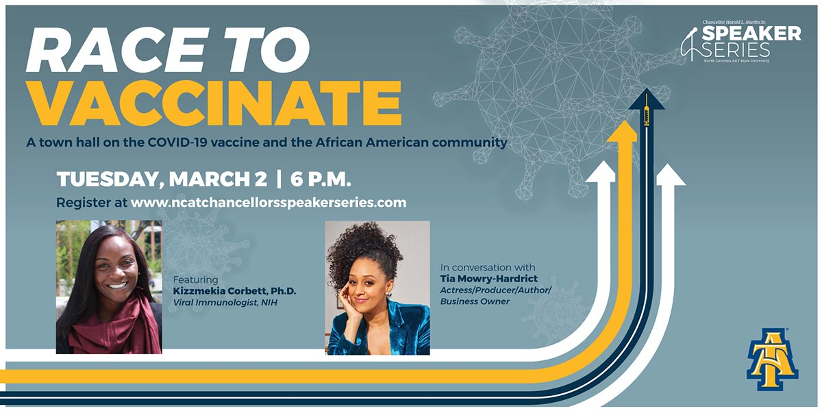 Race to Vaccinate: A town hall on the COVID-19 Vaccine and African American community